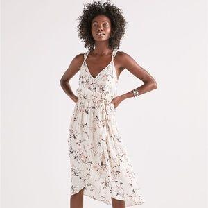 Floral Wrap Dress Lucky Brand